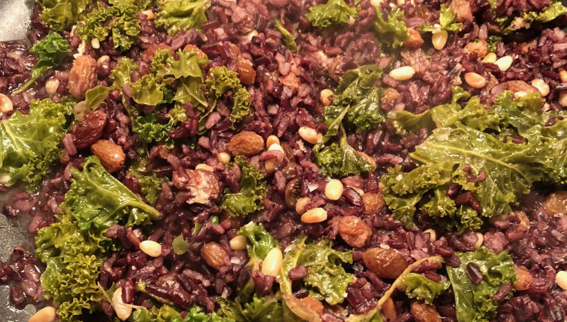 Lunch Box Special – Warming Winter Wild Rice Salad