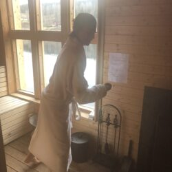 Magic Moment of the Week – Cold water therapy & Swedish Sauna