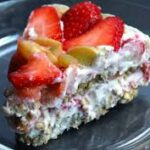 Raw Strawberry Summer Pie
