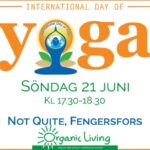 Internationella Yoga Dagen i Fengerfors -Utomhus Yoga
